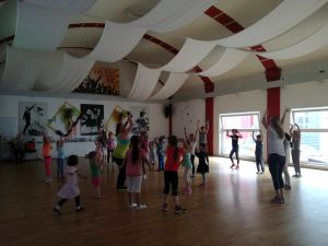 Kinder bei der Dance-Party for Kids 6.5.2017