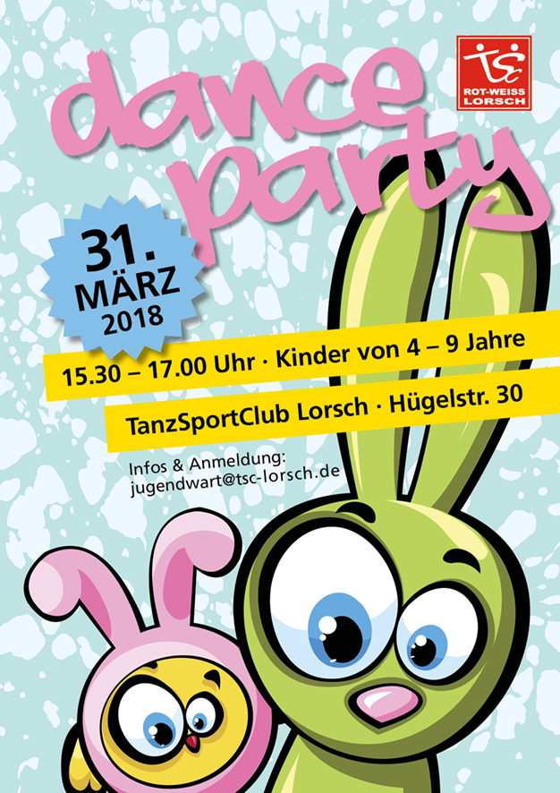 Dance-Party am Ostersamstag